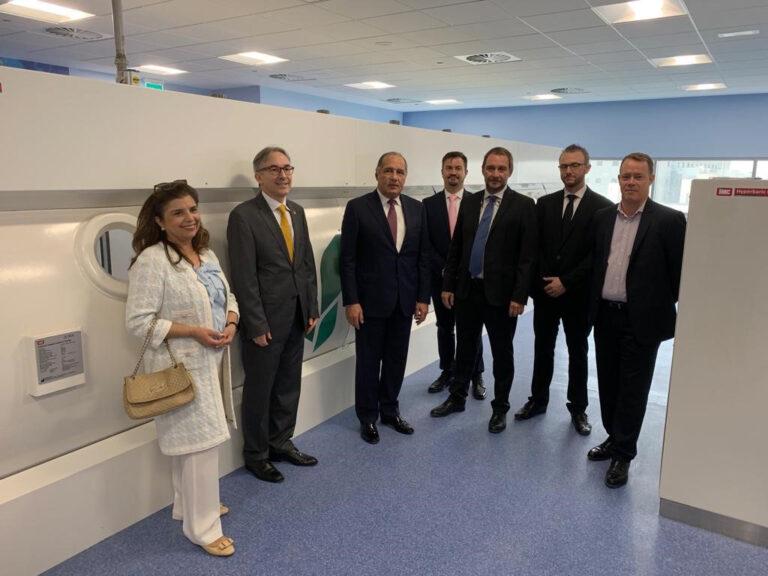 Visit of the Swiss ambassador