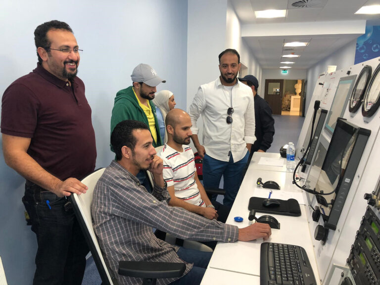 Command center at New Jahra