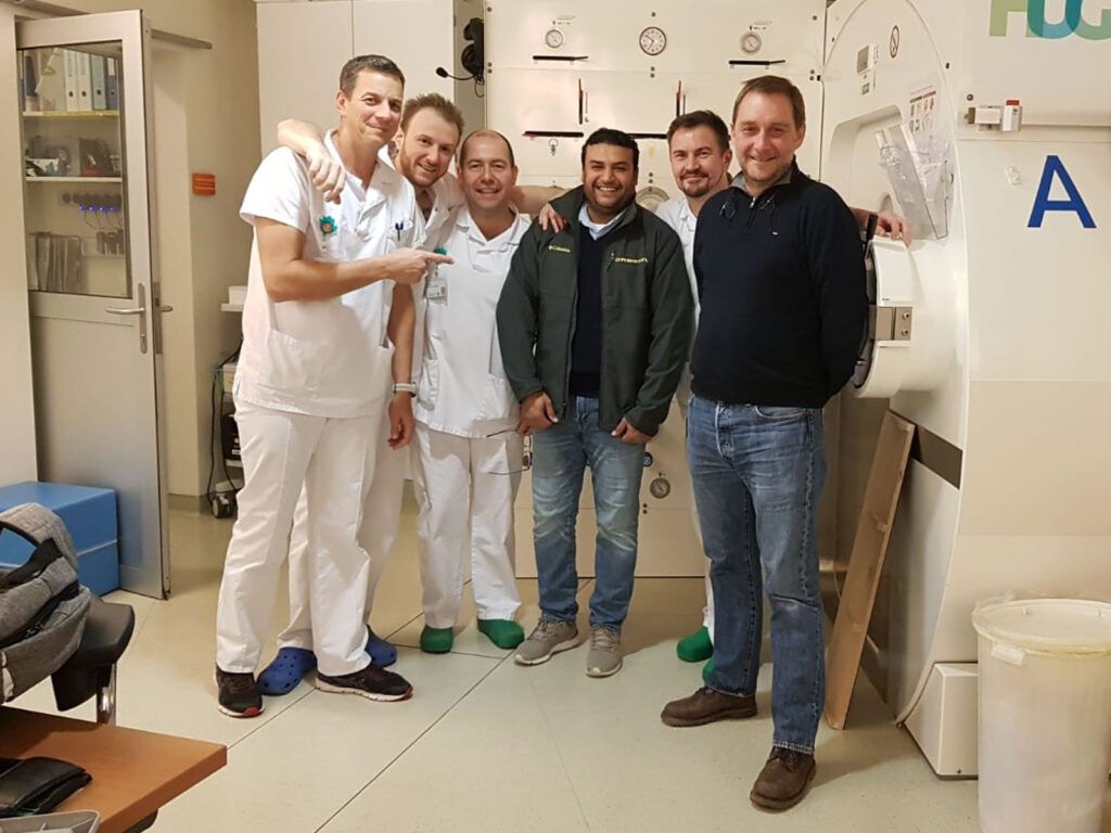 Training at Geneva hospital