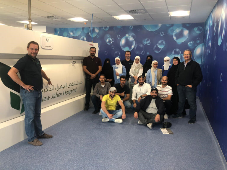 Student group at New Jahra