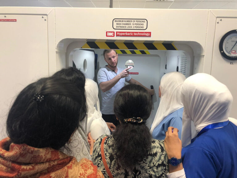 New Jahra Hyperbaric chamber